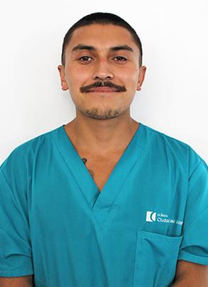 Misael Díaz </br>Auxiliar de Servicio